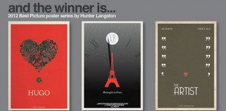 best picture poster series 2012 by hunter langston
