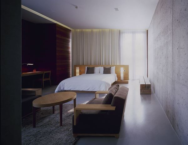 luxury interior design and architecture for the hotel cha am