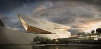 dalian library design proposal