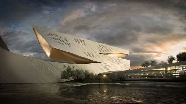 Dalian Library Competition Design Proposal By 10 Design
