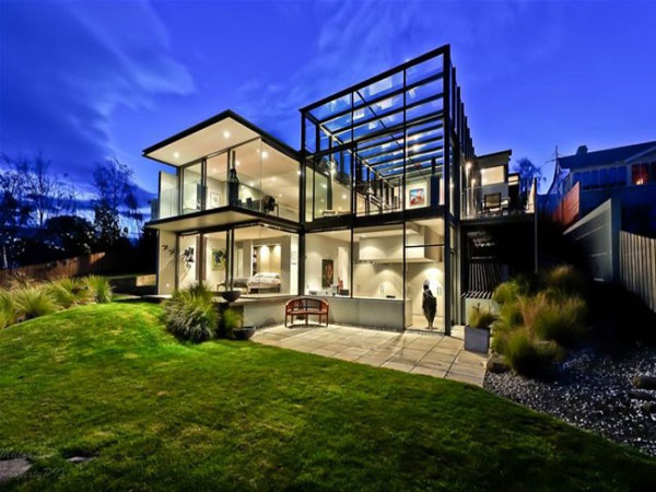 The kay house a glass house architecture by maria gigney for Luxury home architects