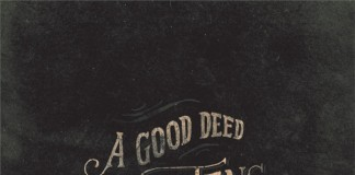 good deeds typographic art print