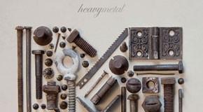 Heavymetal - Typographic Poster Design