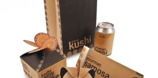 kushi package design