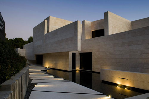 Amazing modern architecture marbella house by a cero for Amazing modern architecture