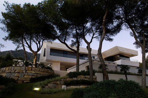 Amazing Modern Architecture - Marbella House by A-cero