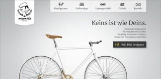 myownbike homepage