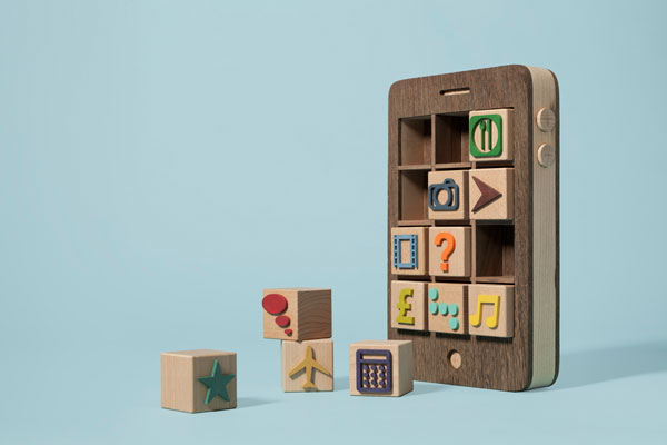 Smartphone - Creative Hand Crafted Artwork by Kyle Bean