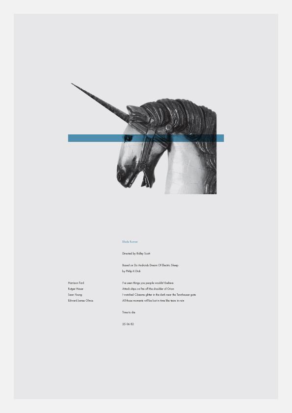 Blade Runner poster by Daniel Gray