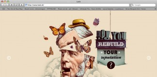 Illustrated Web Design for Look Communications