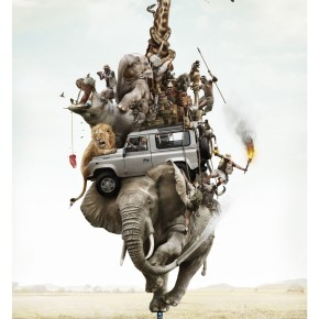 Creative Advertising Inspiration - ad campaign for Land Rover S1 Phone