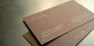 business cards - identity design