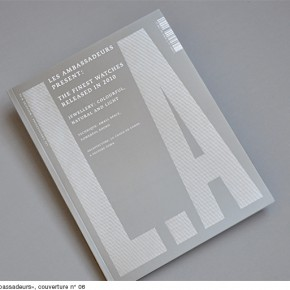 L.A magazine - magazine for Les Ambassadeurs by Enze
