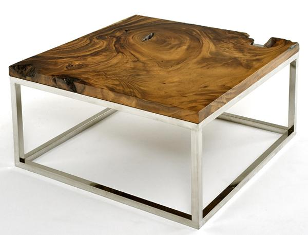 Rustic Contemporary Coffee Table