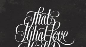 typographic design by brendan prince