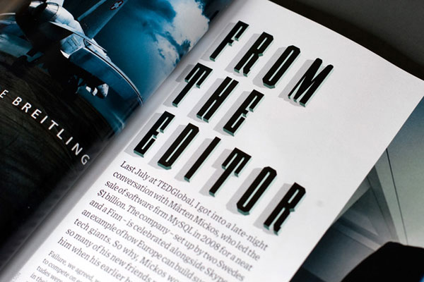 Typeface for Wired Magazine by Studio8 Design