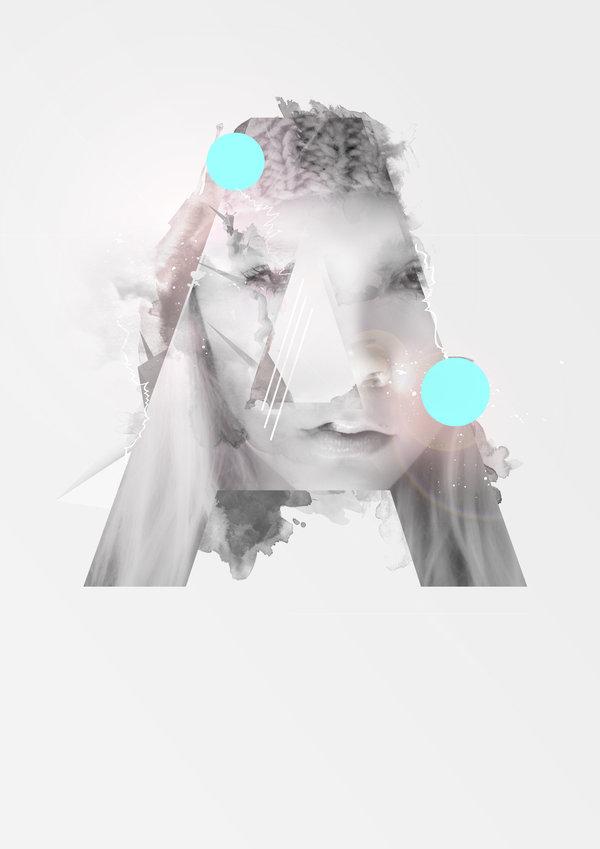 Alphabetic Digital Art Project by Knarfart