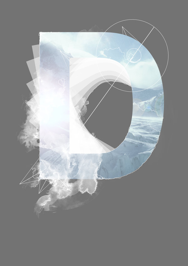 Alphabetic Digital Art Series by Knarfart