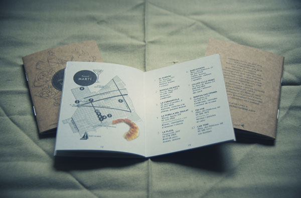 Guia Monapart del Vermut BCN a Barcelona City Guide, designed by Carla Cascales