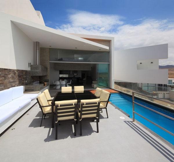 Beach house - Casa Playa Las Lomas by Vertice Arquitectos