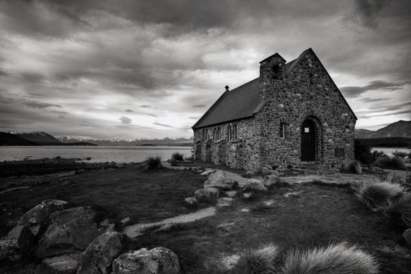 Church of the Good Shepard - Photography by Sebastian Wahsner - Black And White Landscape Photography By Sebastian Wahsner