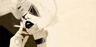 Coffee and Cigarettes Illustration by Manuel Rebollo