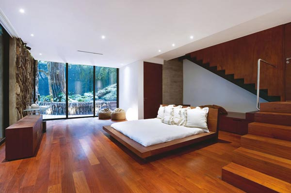 Modern designed Bedroom - Corallo House by PAZ Arquitectura