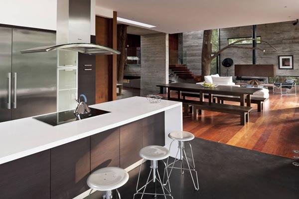 Modern Kitchen Design - Corallo House by PAZ Arquitectura