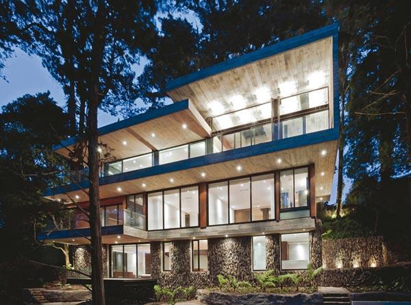 Fantastic Architecture - Corallo House by PAZ Arquitectura