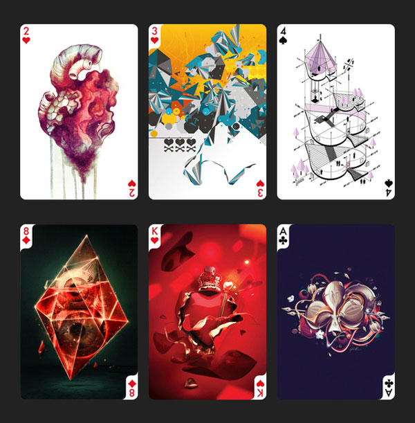Creative Playing Cards Project