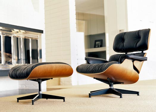Iconic design the eames lounge chair and ottoman Iconic chair and ottoman