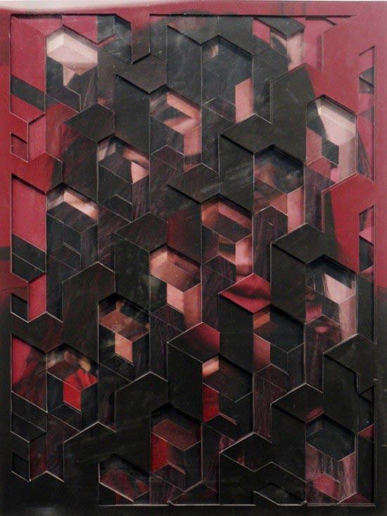 Multilayered Portrait by Lucas Simões