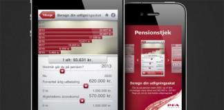 PFA iPhone App - UI Screen Design