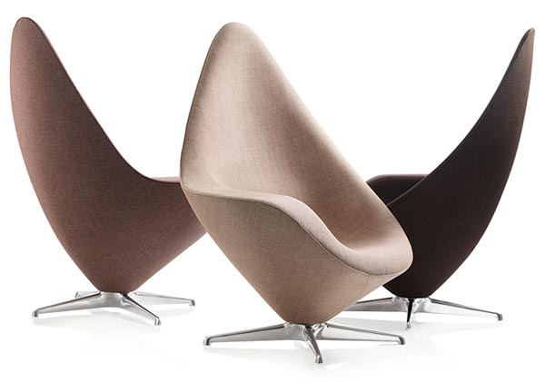 Plateau lounge chair red dot product design award 2011 for Designer lounge furniture