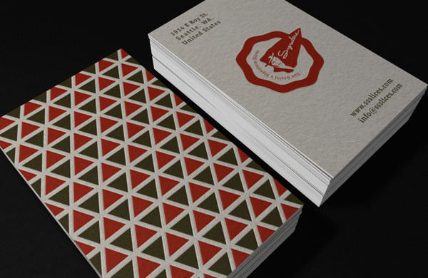 San Gretti´s Business Cards - Graphic Design by Robinsson Cravents
