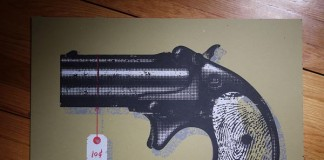 The Black Keys Poster Project - 10 Cent Pistol