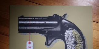 The Black Keys Poster Project - 10 Cent Pistol