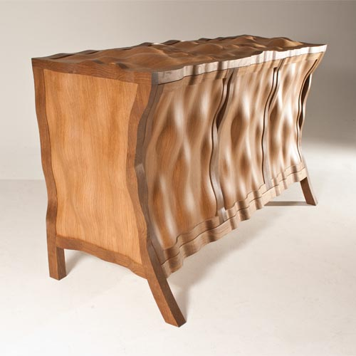 Volumptuous Sideboard - Furniture Design by Edward Johnson