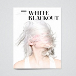 White Blackout Magazine - Editorial Design by Kasper Pyndt Studio