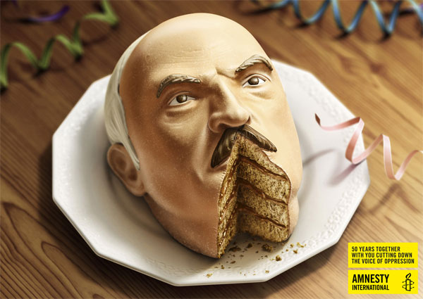 Advertising campaign for Amnesty International