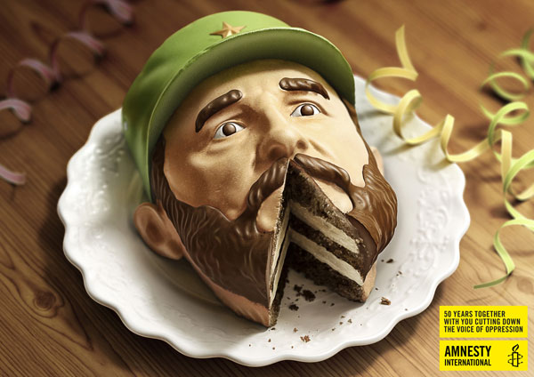 Creative advertising campaign for Amnesty International