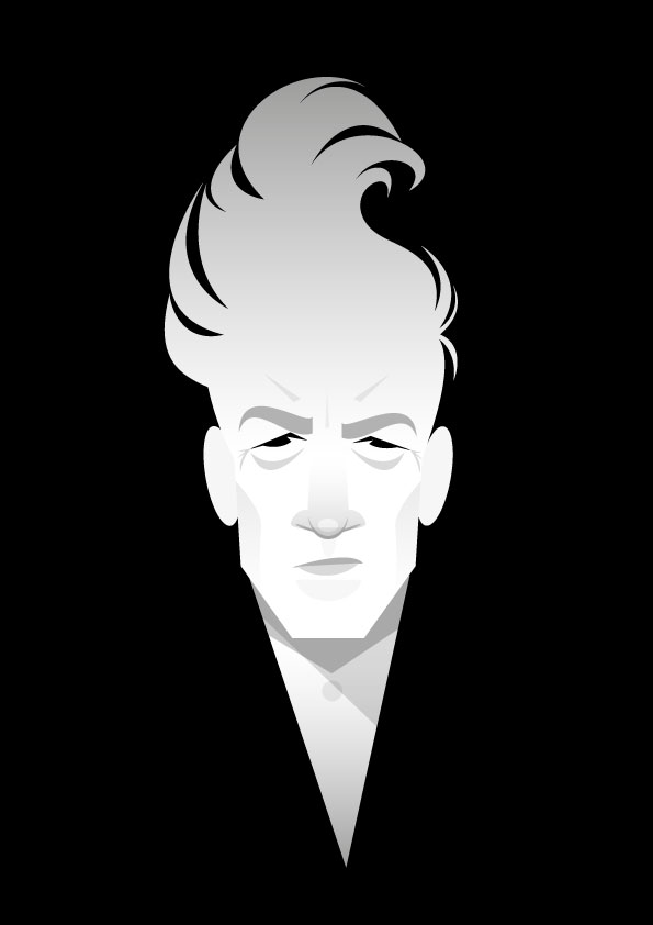 David Lynch Illustration by Stanley Chow