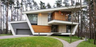 House in Gorky by Atrium Architects