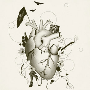I Love Design - Illustration by Dirk Petzold