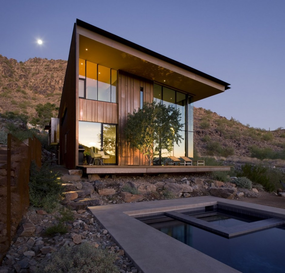 Modern Architecture of the Jarson Residence in Paradise Valley, Arizona by Will Bruder + Partners