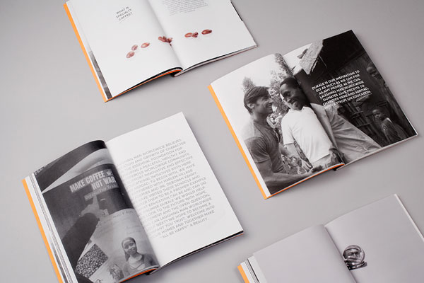Laughing Man Brochure - Identity Design by Established