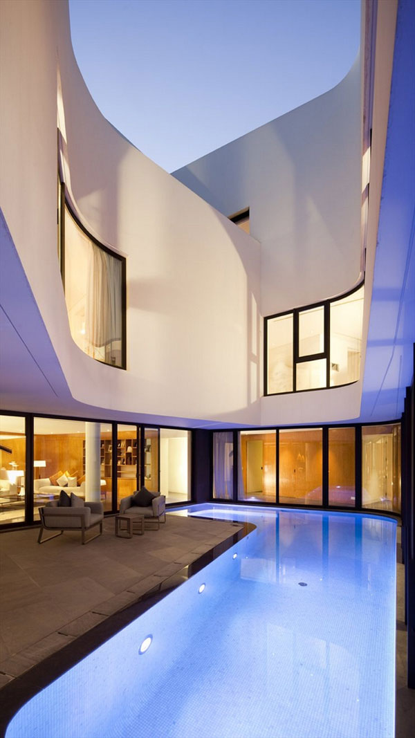 Luxurious and modern designed architecture - The Mop House by AGI Architects
