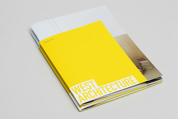 Brochure Design for West Architecture by Morse Studio