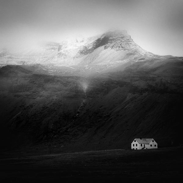 Black and White Iceland Photography by Peter Zeglis