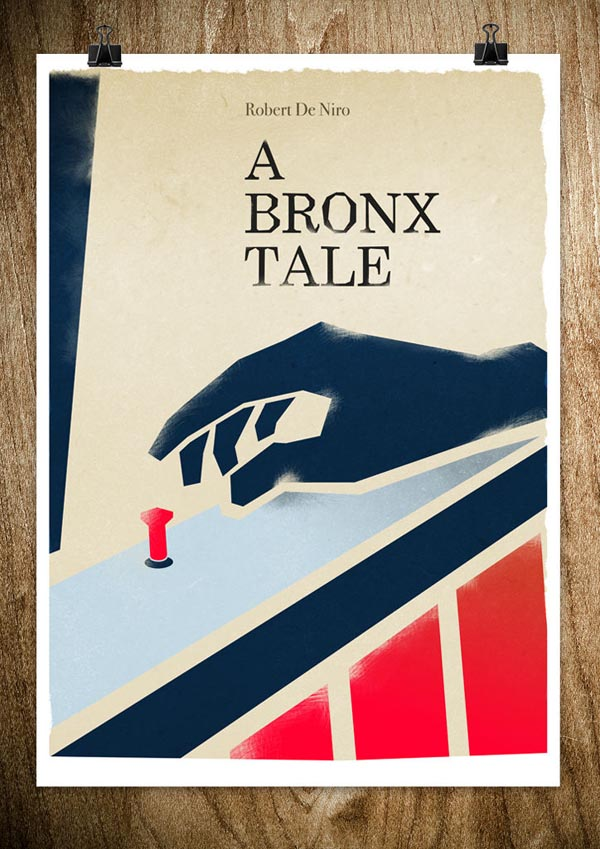 A Bronx Tale - Movie Poster Design by Rocco Malatesta